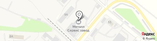 Металлпоставка на карте Строителя