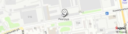 Революционный труд на карте Тамбова