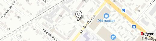 Навигатор 68 на карте Тамбова