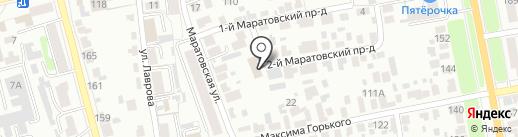 Управление Россельхознадзора по Рязанской и Тамбовской областям на карте Тамбова