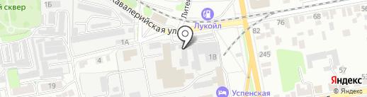 Автодок на карте Тамбова