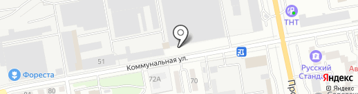 ТКТ на карте Тамбова