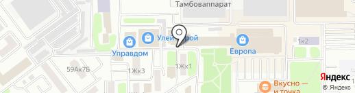 Анонимные Наркоманы на карте Тамбова