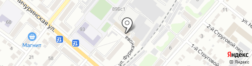 Высота на карте Тамбова