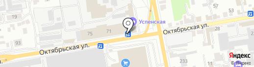 М.Е.К. на карте Тамбова