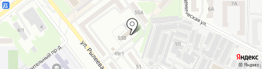 Центр занятости населения г. Тамбова на карте Тамбова