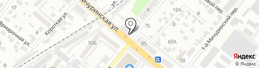 Престиж Декор на карте Тамбова