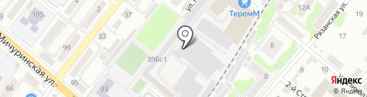 Разбор68 на карте Тамбова