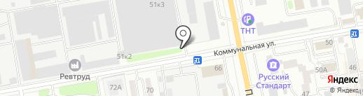 Атлас Телеком на карте Тамбова