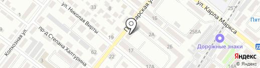 Тамбовский Дом Науки и Техники на карте Тамбова