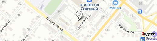 Тамбовский авиационный спортивный клуб на карте Тамбова