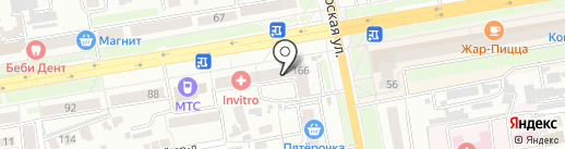 Три бочки на карте Тамбова