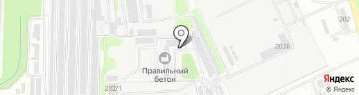Тамбов Инвест Сервис, МУП на карте Тамбова