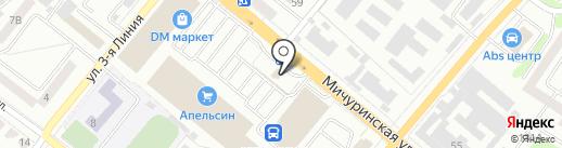 Comepay на карте Тамбова