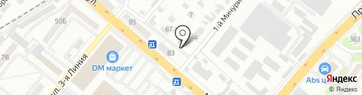 Центр полиграфии на карте Тамбова