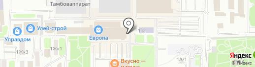 Магазин аксессуаров для мобильных телефонов на карте Тамбова