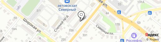 ГлавФундамент на карте Тамбова