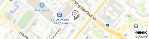 Строймонтажсервис на карте Тамбова