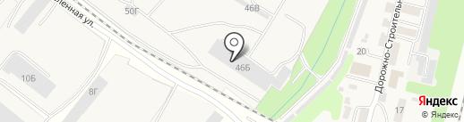 НВК-строй на карте Строителя