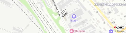 Тамбовский таможенный пост на карте Тамбова