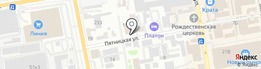 Современность на карте Тамбова