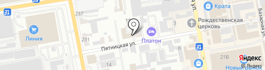 Стоматолог и Я на карте Тамбова