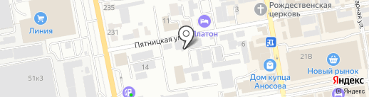 Мой дом на карте Тамбова