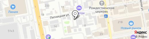 ЗАГС Тамбовского района на карте Тамбова