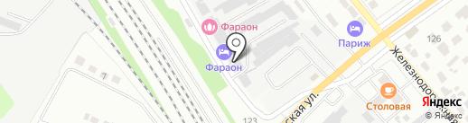 Рад-дуга на карте Тамбова