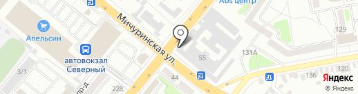 Следственный изолятор №1 на карте Тамбова
