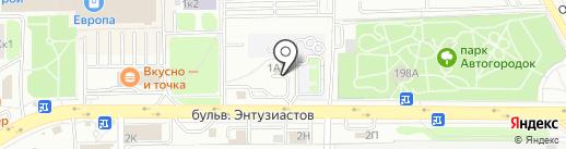 ЖилТехСервис на карте Тамбова