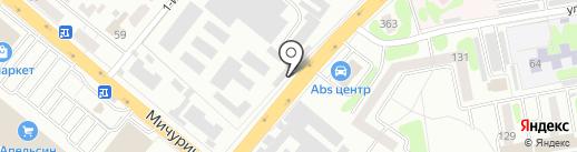 Учреждение Ят-30/1 на карте Тамбова