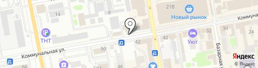 Ивушка на карте Тамбова