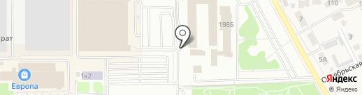 Шаверма на карте Тамбова