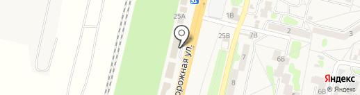 Магазин велосипедов на карте Строителя
