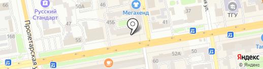 Идеальная пара на карте Тамбова