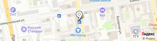 Тамбовская городская коллегия адвокатов на карте Тамбова