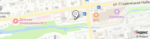 ДОДОР на карте Тамбова