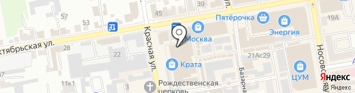 Экшн на карте Тамбова