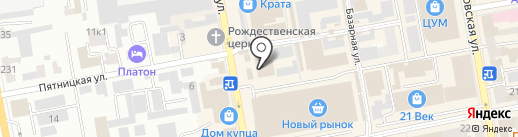 Юнистрим на карте Тамбова
