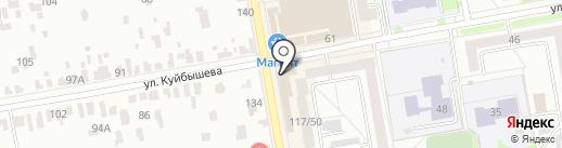 Магазин верхней женской одежды на карте Тамбова