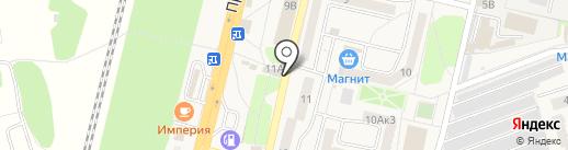 Пекарня №1 на карте Строителя