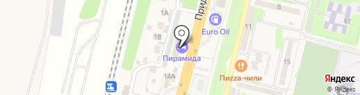 Ангел на карте Строителя