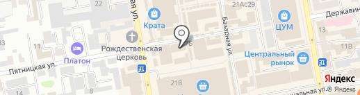 Магазин запчастей для бытовой техники на карте Тамбова