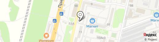 Продуктовый магазин на карте Строителя