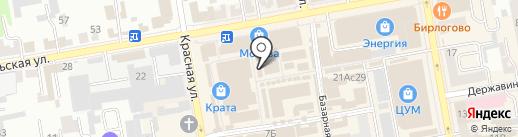 Ералаш на карте Тамбова