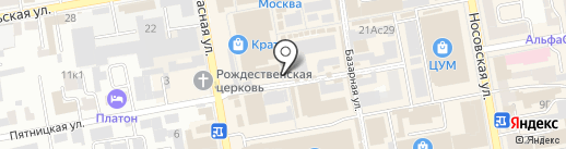 РысенОК на карте Тамбова
