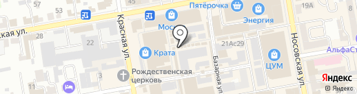Магазин спецодежды на карте Тамбова