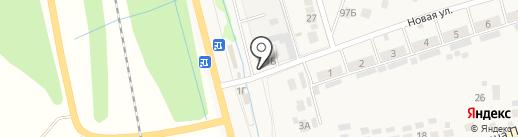 Компания по продаже стройматериалов на карте Бокино