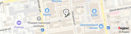 Апекс на карте Тамбова